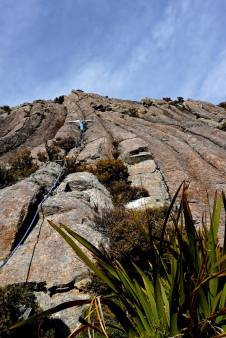 Climbing at Mount Somers