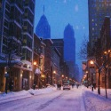 Snowy Philly