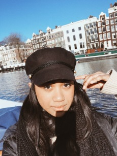 Canal tour in Amsterdam